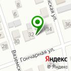 Местоположение компании ВЕК