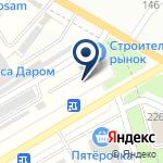 Компания Строительный рынок на Раевском на карте