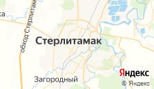 Гостиницы города Стерлитамак на карте