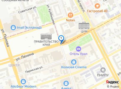 Посмотреть на карте фируму: ООО «Завод «Уральских Сплавов»» (ЗУРС)