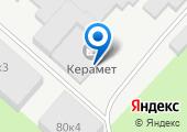 Керамет-Пермь на карте