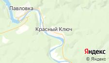 Гостиницы города Красный Ключ на карте