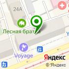 Местоположение компании Урал-графика
