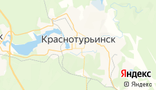 Гостиницы города Краснотурьинск на карте