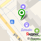 Местоположение компании Новая стоматология