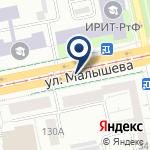 Компания Прокат66 на карте