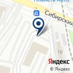 Компания УралЭкспорт на карте