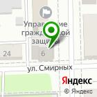 Местоположение компании УНИКС