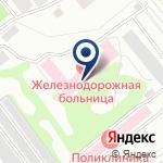 Компания Железнодорожная больница, НУЗ на карте