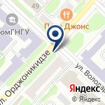Компания Амодей.ру на карте