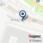 Компания НИОД на карте