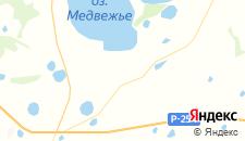 Гостиницы города Новое Ильинское на карте
