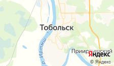 Гостиницы города Тобольск на карте