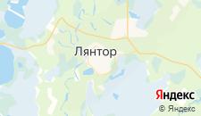 Гостиницы города Лянтор на карте