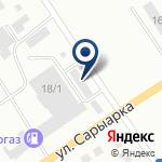 Компания УГХ ГАЗ-автосервис, ТОО на карте