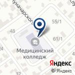 Компания Темиртауский медицинский колледж на карте