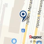 Компания Строящееся административное здание по ул. Металлургов проспект на карте
