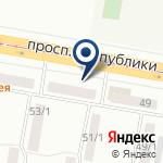 Компания GammaDesign на карте