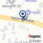 Компания АЗС Гелиос на карте