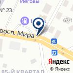 Компания ВАЗ на карте