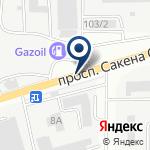 Компания АЗС на карте