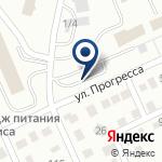Компания Караганда Стандарт, ТОО на карте