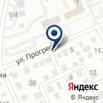 Компания Юр.Компани, ТОО на карте