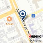 Компания Департамент комитета национальной безопасности Республики Казахстан по Карагандинской области на карте