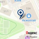 Компания Pandora на карте