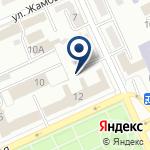 Компания Департамент внутренного государственного аудита по Карагандинской области, РГУ на карте