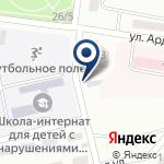 Компания Ак барс на карте