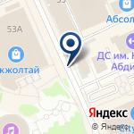 Компания TENNISI.KZ на карте