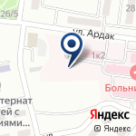 Компания КГП Областная станция скорой медицинской помощи г.Караганда на карте