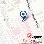 Компания Областная детская клиническая больница на карте
