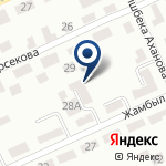 Компания Kazpromavtomatika, ТОО на карте