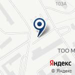 Компания СП КазБелАЗ, ТОО на карте