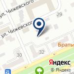 Компания Техносталь, ТОО на карте