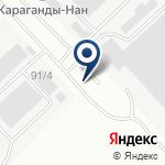 Компания Джибек, ТОО на карте