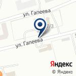 Компания Автомастерская на ул. Гапеева на карте