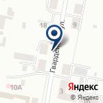 Компания КарагандаЖелДорПроект, ТОО на карте