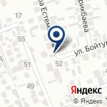 Компания Участковый пункт полиции №13 Аксайского сельского округа Карасайского района на карте