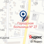Компания Городская поликлиника №27 на карте