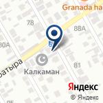 Компания Калкаман-2 на карте