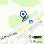 Компания Байрамов, ТОО на карте