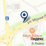 Компания Алматы на карте