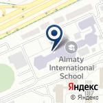 Компания Almaty International School на карте