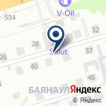 Компания Salut Hotel Almaty на карте