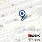 Компания Ак барыс на карте