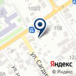 Компания Магазин автозапчастей на ул. Жандосова на карте
