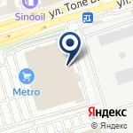 Компания METRO на карте